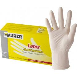 "CF.100 GUANTI LATTICE MAURER ""LATEX"" TG.L"